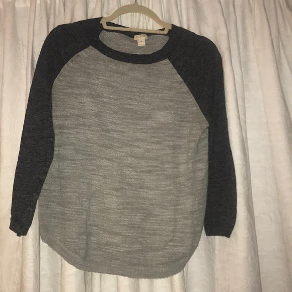 J. Crew Sweaters - J. Crew baseball sweater
